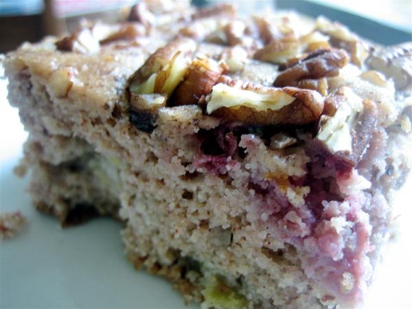 Strawberry Rhubarb Breakfast Dessert Cake
