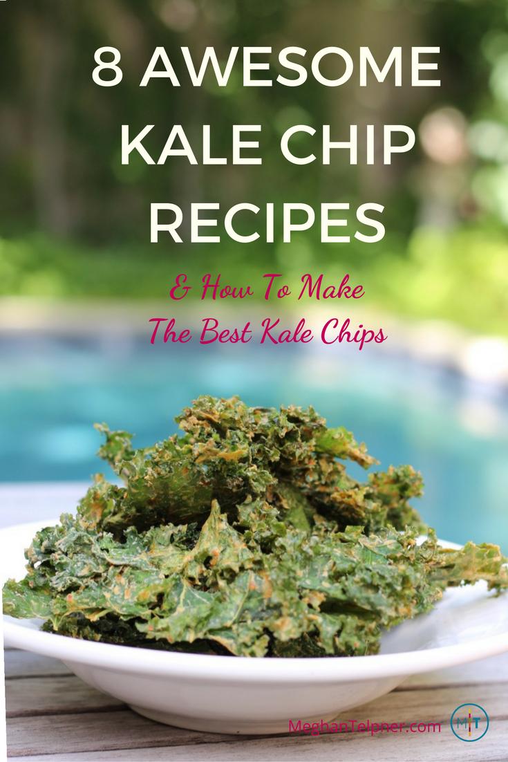 8 Kale Chip Recipes